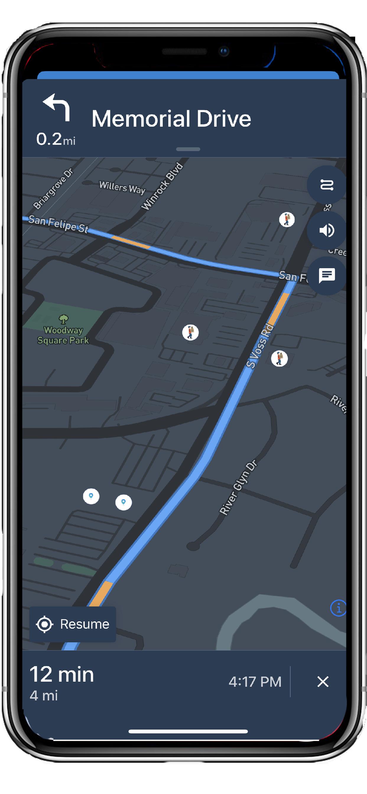CirclesX RoutesX Navigation Platform