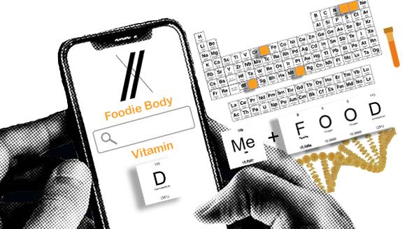 Vitamin D Foodie Body Bioinformatics
